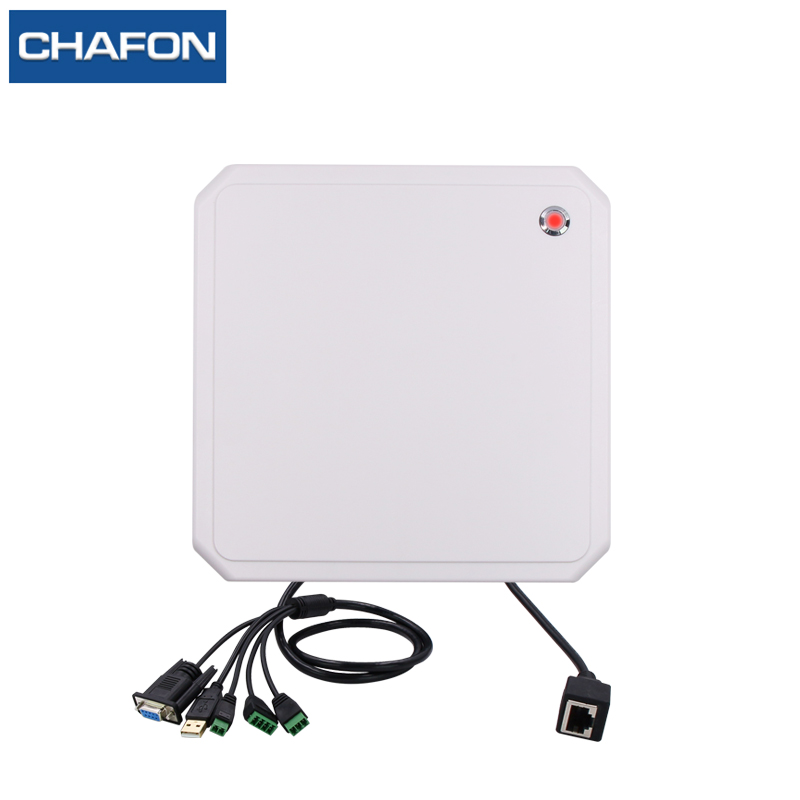CHAFON 10M tcp/ip uhf rfid reader long range USB RS232 WG26 RELAY free SDK for parking and warehouse management