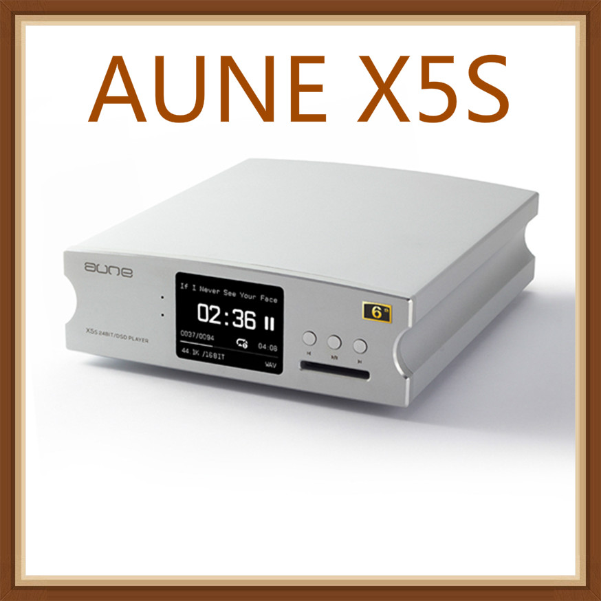 AUNE X5S Hifi цифровой аудиоплеер декодер AK4490 ультракомпактный DSD, usb усилитель DAC 24bit/192 K