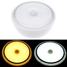 IKVVT 12 Вт светодиодный PIR датчик движения Инфракрасный потолочный светильник вниз свет заподлицо крепление