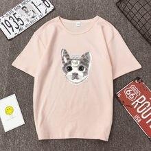 Cat Print Women tshirt Casual Funny t shirt For Lady Girl Top Tee Hipster Tumblr Drop Ship недорого