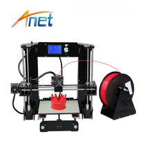 High Precision Anet A6/A8 3d Printer Super Easy to Assembled Industrial 3D Printer Metal DIY Kit Best for Home and Office Used anet a3 full assembled high precision 3d printer aluminum arcylic frame 3d printer kit industry three dimensional diy printing