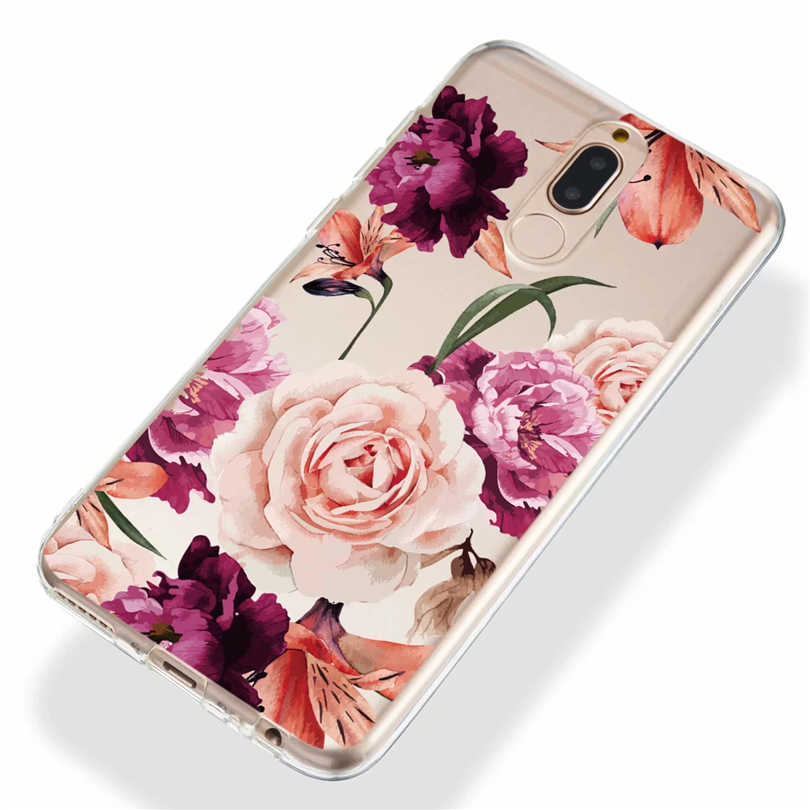 3D Pintado Caso de Telefone de Silicone Para Huawei Companheiro 20 Pro P20 P9 P Inteligente Lite Nova 3i 2i Limpar TPU soft Case Back Cover DYee