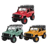 MN-90 1/12 2,4G 4WD RC АВТОМОБИЛЬ W/спереди светодиодный свет 2 корпус багажник гусеничный грузовик RTR игрушка гусеничный автомобиль