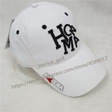 Baru Pria dan Wanita HONMA Golf Topi Putih Olahraga Baseball Cap Kolam Hat  Baru Sun Visor Topi Olahraga gratis Pengiriman 4a24100c6d
