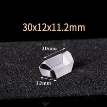 30x12x11,2 мм оптический Стекло прямоугольная призма крыши K9 светового спектра физики оптика