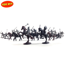 Drop shipping, New Ancient Military Force Model Play Set, War Figure Toys, 12 Soldier+8 Knight+8 Battle Steed, Children Boy Gift