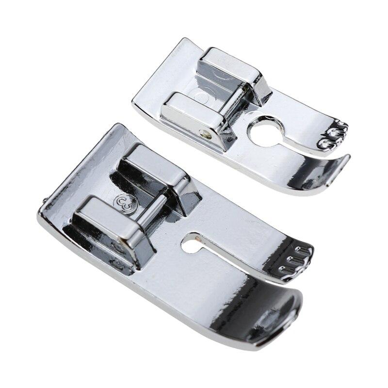 Прижимная лапка для швейной машины с прямым стежком 7304 подходит для большинства машин, в которых используются оснастчатые аксессуары, таки...