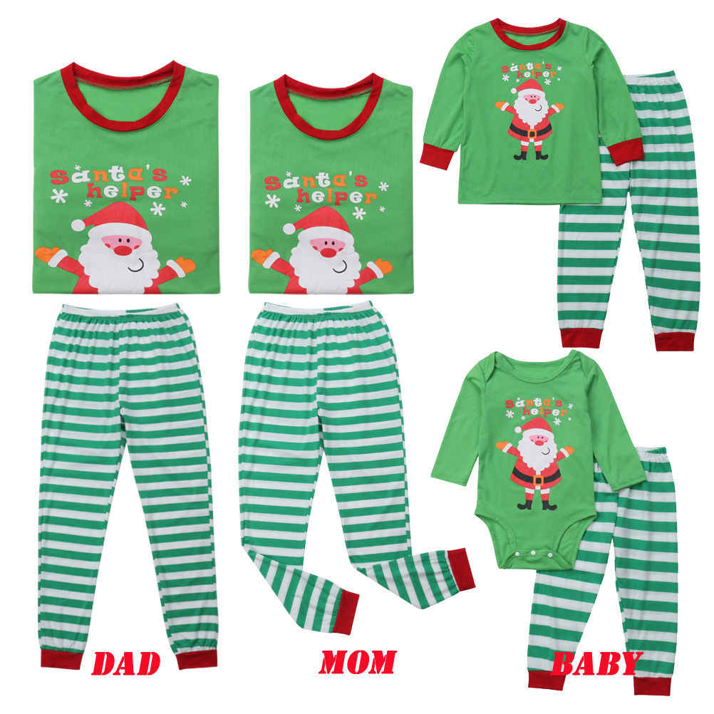 Detail Feedback Questions about Family Matching Christmas Pajamas Sets Dad  Mon Baby Kids Xmas Sleepwear Nightwear Set Outfits on Aliexpress.com  c778de176