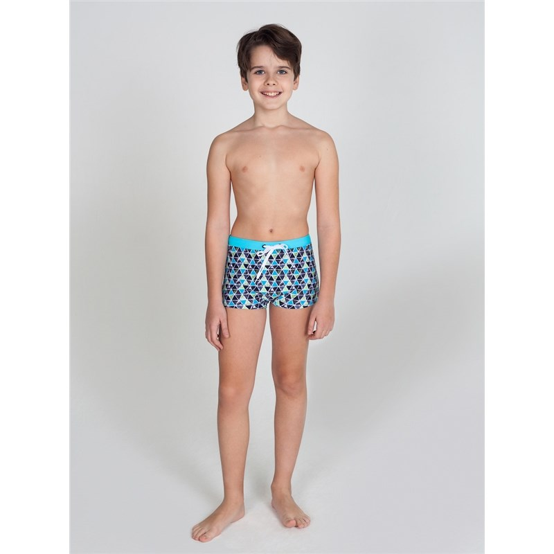 [Available with 10.11] Swimming Trunks shorts Swimwear For boys lace up dragon printed swimming trunks