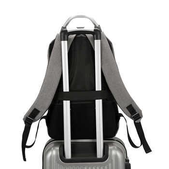 New USB Charging Port Unisex Anti Theft Business Laptop Backpack Multifunction Waterproof Travel Bagpack For Teenage Girl Nylon