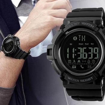 e42025894fe5 SKMEI reloj inteligente podómetro calorías cronógrafo moda al aire libre de deportes  relojes 50 m a prueba de agua Digital Relojes
