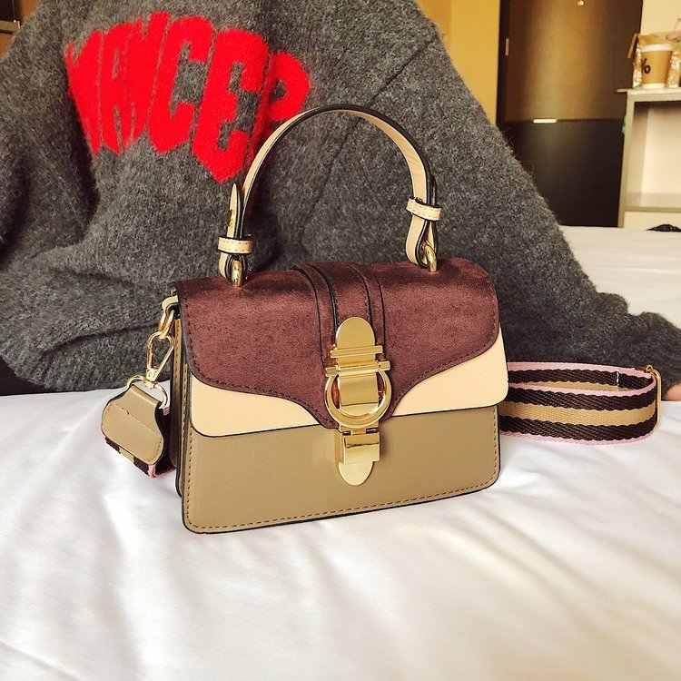 1cdf33b3011c ... High Quality 2019 Cheap Women s Handbags Casual Shoulder Bags Youth  Girls Brand Design Cross-body