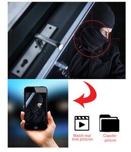 Image 2 - WOFEA caméra de Surveillance IP WIFI HD 4MP/1080P, dispositif de sécurité sans fil, avec ia, suivi automatique, Aare/cordon P2P, Vision nocturne iCSee