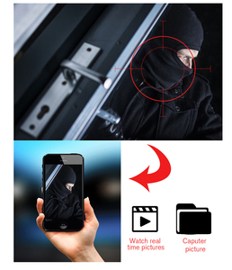 Image 2 - Wofea 1080p/4mp wifi ip câmera de vigilância sem fio hd ai cctv câmera auto faixa alerta aare/cordon p2p visão noturna icsee
