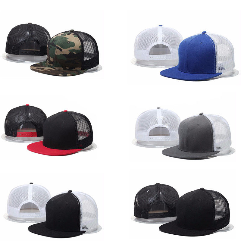Fashion Casual Unisex Woman Man Plain Fitted Flat Bill   Cap   Visor   Baseball   Basic New Blank Solid Hat Sport Color