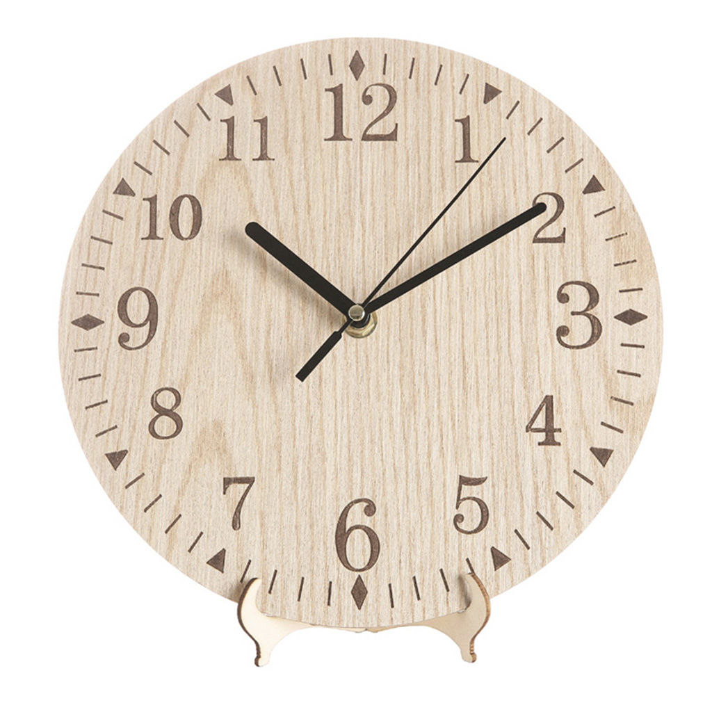 Us 6 66 13 Off Luda Handmade Oversized Retro Rustic Decorative Luxury Art Gear Wooden Vintage Large Wall Clock On The For Gift In