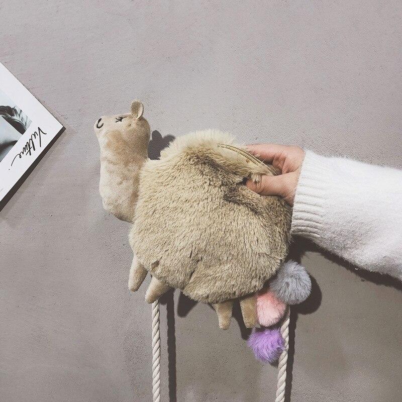 Del Bella Giocattolo Cartoon Peluche I Di Crossbody Borse Bambini Cute Compleanno Mini Sacchetto Animali Regali Per Pecora Alpaca Telefono Za nXqOdzYR