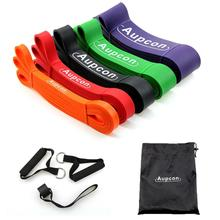 Resistance Bands Gym Exercise Elastic Power Lifting Pull Up Strengthen Muscle Fitness Equipment 5 Levels
