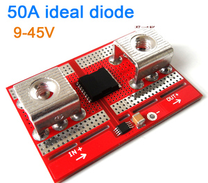 Image 1 - DYKB 50A Ideal Diode Controller Solar/Battery Charging Anti backflow Protection Board Diode controller