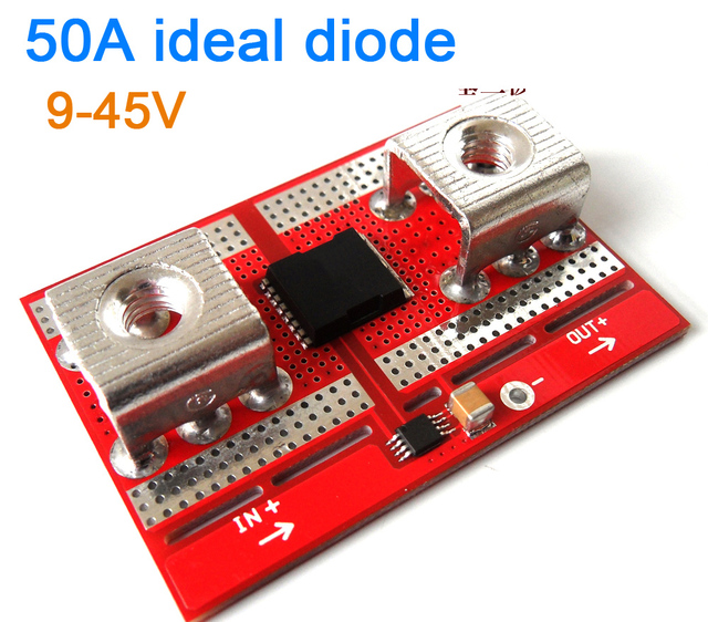 DYKB 50A Ideal Diode Controller Solar/Battery Charging Anti backflow Protection Board Diode controller