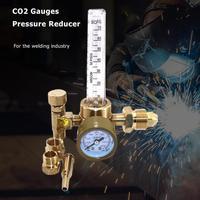 Flow Meter Gas Regulator CO2 Gauges Pressure Reducer Argon Flowmeter Regulator Control Valve Welding Weld Gauge Argon Regulator