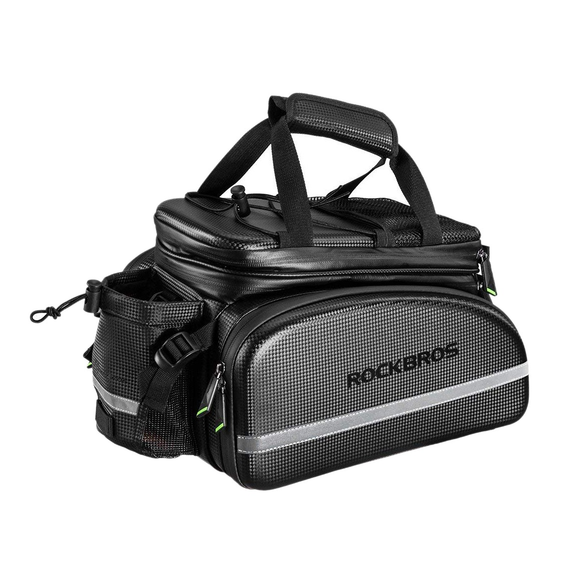 HOT-Rockbros Bike Rack Bag Trunk Bag Waterproof Bicycle Rear Seat Cargo Bag Rear Pack Trunk Pannier HandbagHOT-Rockbros Bike Rack Bag Trunk Bag Waterproof Bicycle Rear Seat Cargo Bag Rear Pack Trunk Pannier Handbag