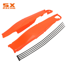 Motorcycle Swingarm Guard Swing Arm Protector Cover For KTM XCW XCFW EXC EXCF Tpi Six Days 150 200 250 300 350 450 500 2012-2019 clutch cover protection cover water pump cover protector for ktm 350 exc f excf 2012 2013 2014 2015 2016