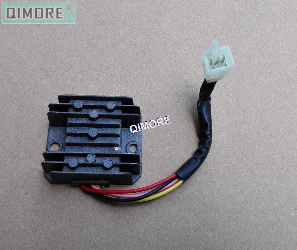 Voltage Regulator Rectifier 5 Wire Female Plug For Motorcycle And Circuit Free Electronic Cg125 Zj125 Cg150 156fmi 157fmi 162fmj In Motorbike Ingition From Automobiles Motorcycles