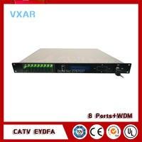 CATV 1550nm edfa 1310/1490/1550 wdm 8output