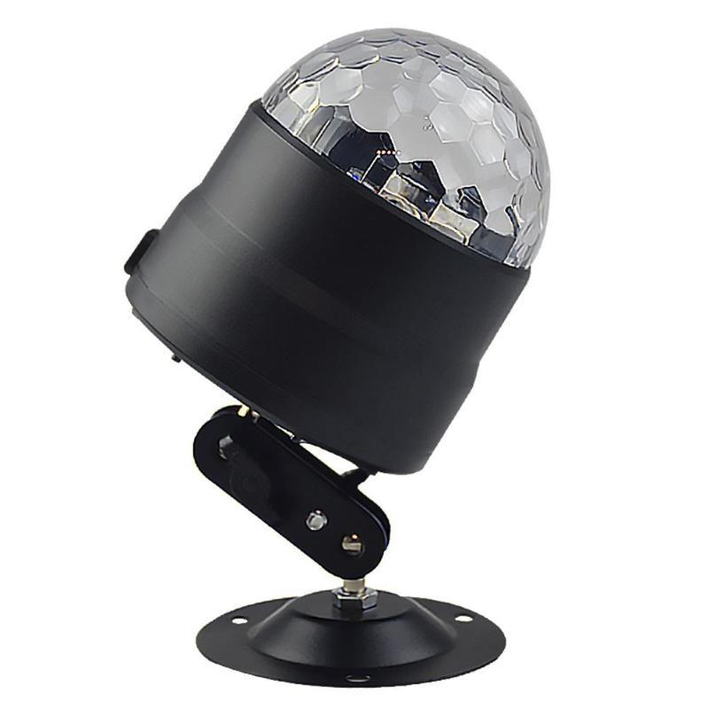 Atotalof DJ Voice Control USB Mini LED Stage Light Disco Magic Ball LightAtotalof DJ Voice Control USB Mini LED Stage Light Disco Magic Ball Light