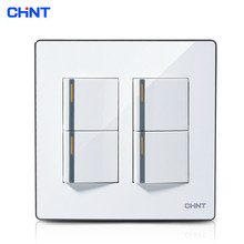 CHINT Light Switches 120 Type /NEW9E Series Four Gang Two Way Switch Wall