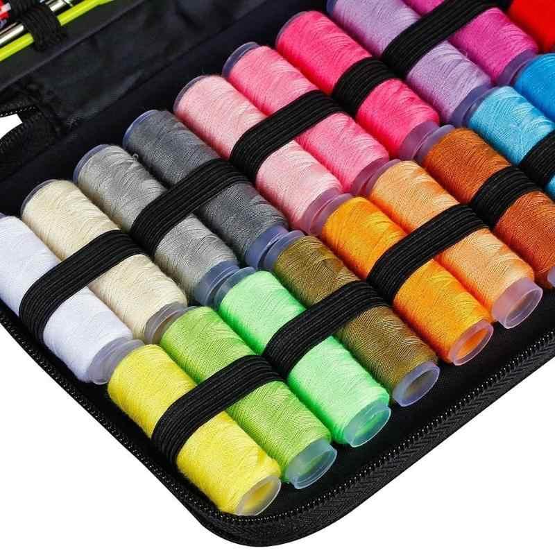 Nähen Kits Tragbare DIY Multi-funktion Nähen Box Set für Hand Stricken Quilten Nähen Stickerei Gewinde Nähen Zubehör