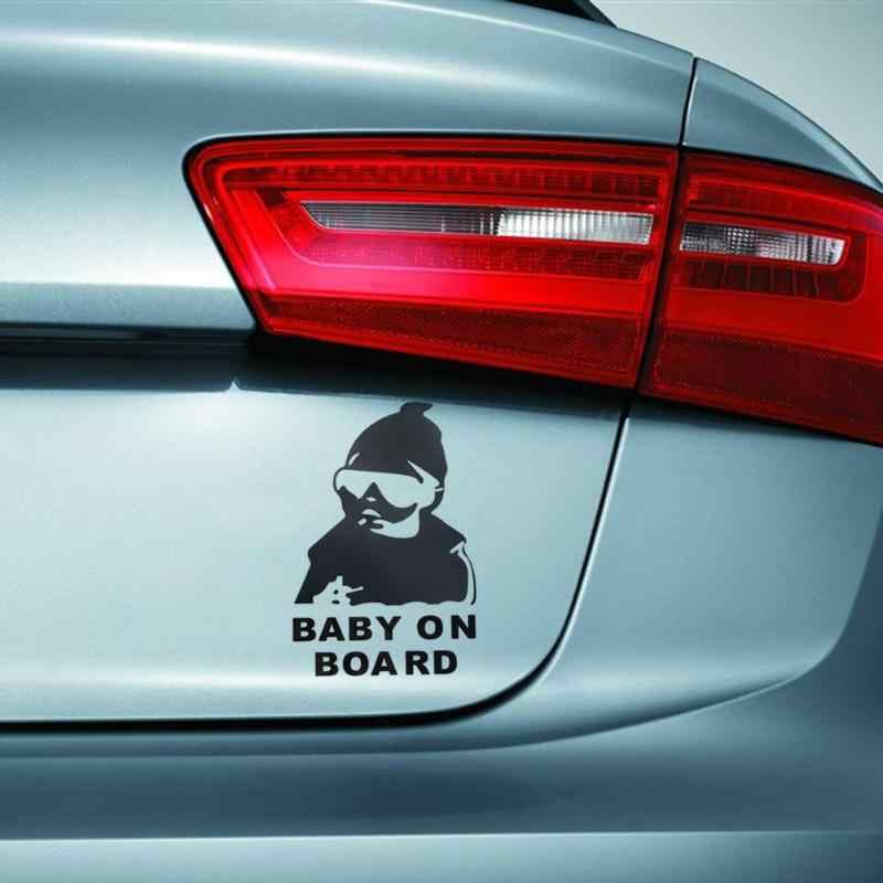 Universal Mobil Reflektif Tahan Air Pintu Belakang Reflektif Stiker Mobil Bayi Pada Kualitas Tinggi Papan Stiker Mobil-styling 10X14.8 CM