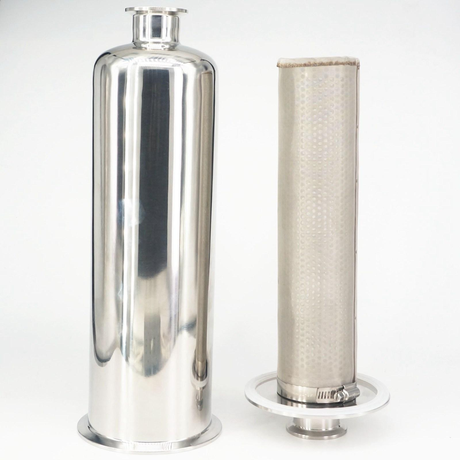 Fit Tube OD 19/25/32/38/51/63mm Pipe Tri Clamp 304/316 Stainless Steel In line Filter Strainer Brewing 100Mesh