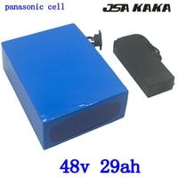 48 V 2000 W 48 48 v 30ah bateria de lítio bicicleta elétrica da bateria V 29AH uso da bateria de iões de lítio panasonic carregador de celular com 54.6 V