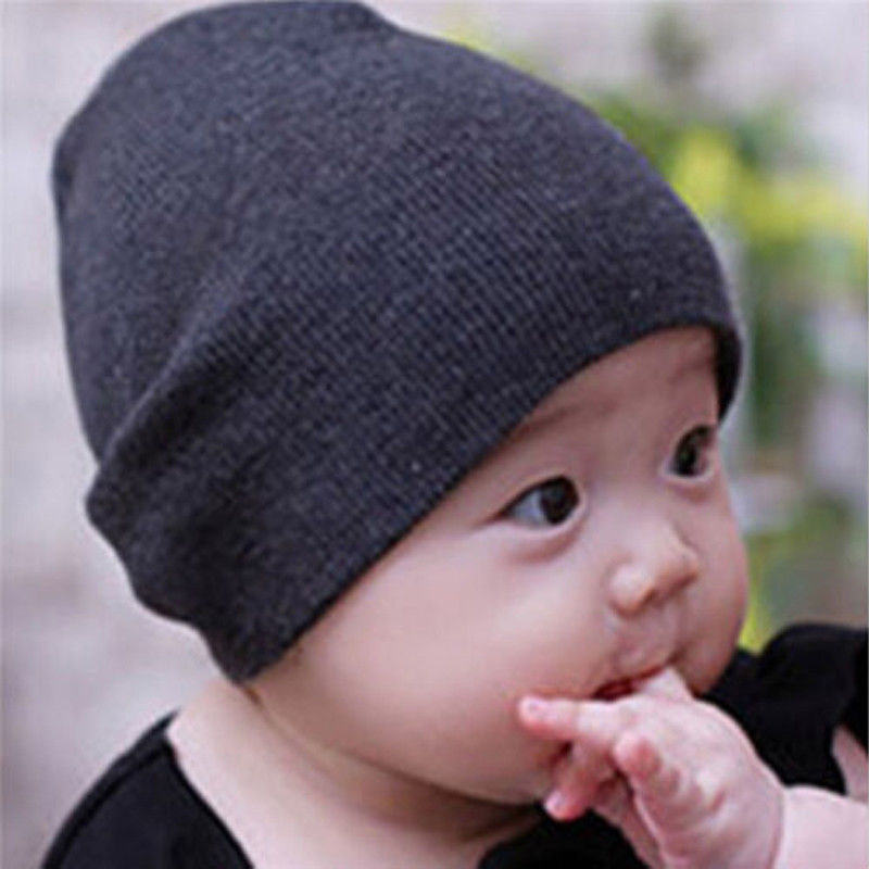Stylish Casual Baby Boys Girls Toddler Infant Childrens Cotton Hats Beanies