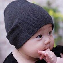 2ae1a598380 2019 Newborn Baby Boy Girl Beanie Hat Infant Toddler Kids Double Layer  Plain Cap Cute Casual Cotton Winter Warm Fashion New Sale