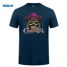 GILDAN CypressHill Cypress Hill Skull Logo Hip Hop T-Shirt  Men and women tee big sizeS-XXXL