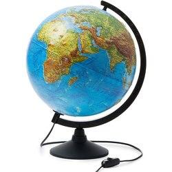 Глобус Земли Globen физико-политический с подсветкой рельефный 320мм