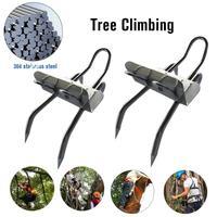 Árvore de Escalada Ferramenta Pólo Picos de Escalada para a Caça Observação de Colheita de Frutas 304 Aço Inoxidável Árvore de Escalada Sapatos Simples para