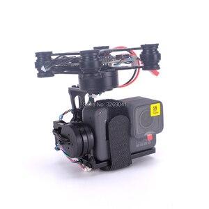 Image 3 - 3 achsen Bürstenlosen Gimbal Storm32 Control FPV Gimbal stecker und spielen Für GoPro Hero 3 4 5 6 S500 S550 DJI Phantom