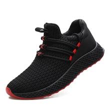 Pria Murni Model Warna Bernapas Sneakers Youth Fashion Nyaman Hommes Sepatu  Kasual Adulte Sepatu Drop Pengiriman 8ffc21fad8