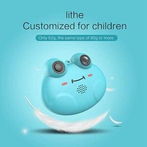 Image 5 - K5 Hd Câmera Digital Infantil Pequena da Rã Dos Desenhos Animados Anti Queda Camera (Azul)
