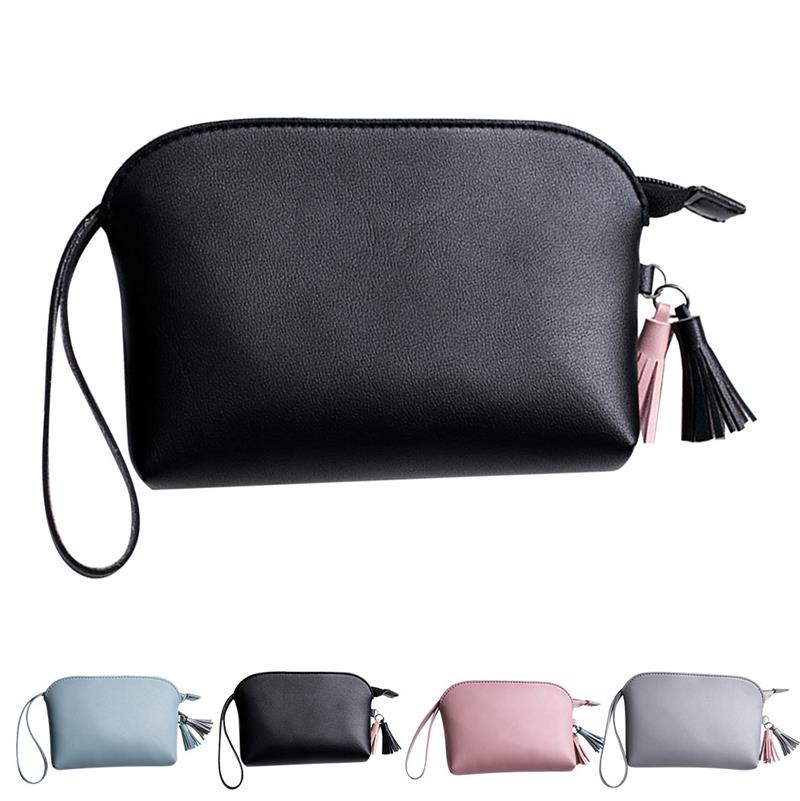 Fashion Tassel Hand Holding Lady Wallet Simple Coin Purse For Women Female Ladies Multifunctional Lightweight