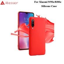 Alesser For For Xiaomi Mi 9 9 Se Silicone Case Soft Back Cover For Xiaomi Mi 8 Protective Case For Xiaomi Mi 8 Se Case Frosted стоимость