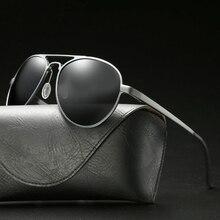 Aluminum Magnesium Sunglasses Men Eyewear Polarized New 2019 UV400 Vintage Fashion Brand Driving Retro Glasses Women Male Polar