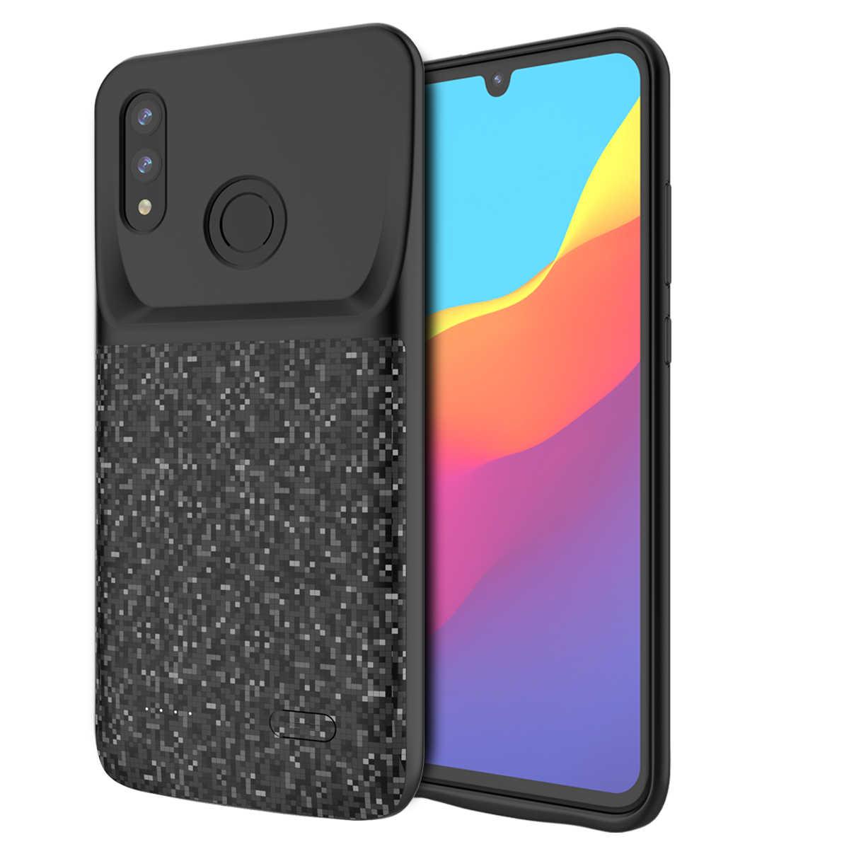 Для huawei Honor 10 Lite 2019 P Smart 2019 зарядное устройство чехол 4700 мАч внешний резервный банк питания Зарядка батареи Fundas