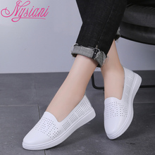 397dd2edc74 Low Price 2019 Genuine Leather Women Loafers Shoes Brand Designer Fashion  Casual Flat Shoes For Women