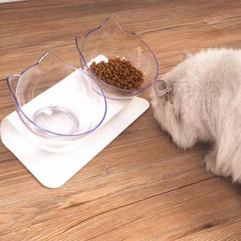 Creative Antiskid Double Bowls With Raised Stand Pet Food And Water Bowl Perfect For Cats And Small Dogs Supplies 1