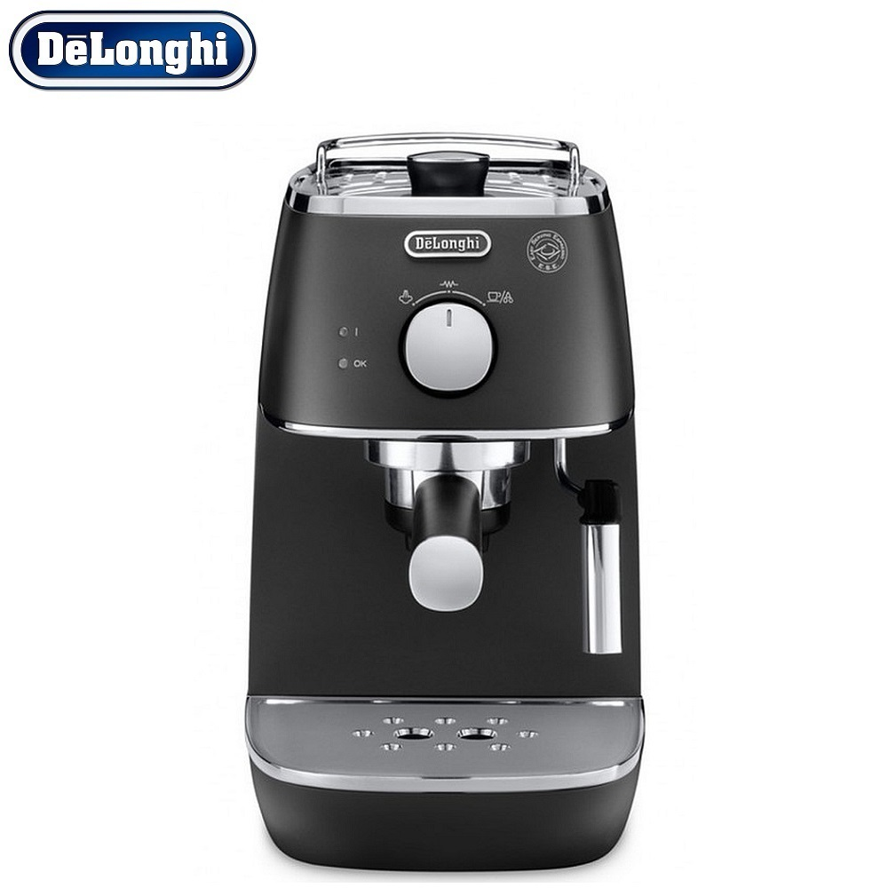 Coffee Maker DeLonghi ECI 341 kitchen automatic pump Coffee machine espresso Coffee Machines Coffee maker Electric кофеварка delonghi eci 341 w distinta 1050 вт белый